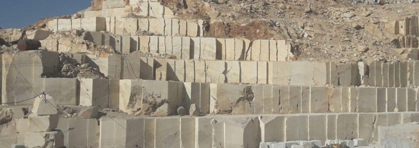 White & Black Crystal Quarry